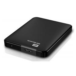 "500GB, Elements 2,5"", Black, USB 3.0 and USB 2.0"